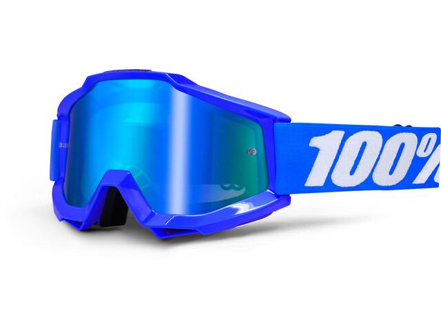 100% Accuri Anti Fog Mirror Lunettes de protection, reflex blue